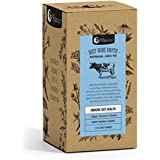 Nutra Organics Beef Bone Broth Organic Hearty Original Powder 7 Sachets Pack, 7 count