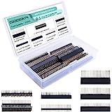 GeeekPi 2x20 40 Pin Stacking Female Header Kit for Raspberry Pi 4B/3B+/3B/2B/B+/A+/Zero(Zero W)/Jetson Nano(7 Specifications)