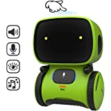 REMOKING STEM Educational Robot for Kids,Dance,Sing,Speak,Walk in Circle,Touch Sense,Voice Control, Learning Partners and Fun