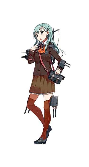 艦隊これくしょん~艦これ~  iPhone/Androidスマホ壁紙(744×1392)-1 - 重巡洋艦 鈴谷