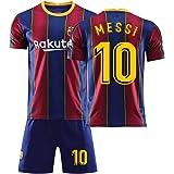 メッシ サッカーユニフォーム FCバルセロナ ホーム 背番号10 レプリカサッカーユニフォーム 子供用 ジュニア GV オリジナルセット商品