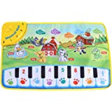 Musical Mats, Baby Crawling Music Piano Keyboard Dance Floor Mat Carpet,Christmas/Halloween/New Year's/Holiday/Birthday Kids,