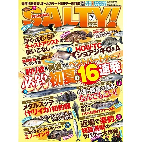 SALTY! 2017年 07 月号 [雑誌]