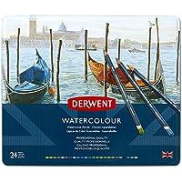 ダーウェント 水彩 色鉛筆 ウォーターカラーペンシル 24色セット 32883