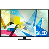 SAMSUNG 65-inch Class QLED Q80T Series - 4K UHD Direct Full Array 12X Quantum HDR 12X Smart TV with Alexa Built-in (QN65Q80TA
