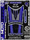 MOTOGRAFIX(モトグラフィックス) タンクパッド YAMAHA MT-09 TRACER ブルー/ブラック MT-TY021BK