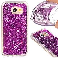 Samsung Galaxy J7 Prime シェル, 耐久保護ケース ポーチ ポーチ バック カバー 保護 シェル 〜と ポーチ の Samsung Galaxy J7 Prime (Purple)