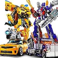 男の子モデルの手車トランスフォーマーロボット玩具メカ子供の日1誕生日6歳パッケージ