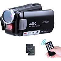 ORDRO AC2 4K ビデオカメラ デジタルビデオカメラ カテゴリ ビデオカメラ vlogカメラ YouTubeカメ…