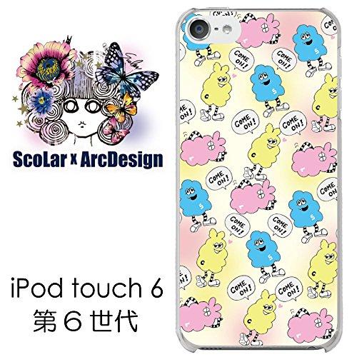 iPod touch 6 スカラー ScoLar ケース カ...