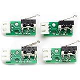 Toaiot 3Dプリンターリミットスイッチ 3Dプリンター部品 高品質 アクセサリー MegaI3 Mega S 4Pcs リミットスイッチ XYZ軸 ストップスイッチモジュール マイクロスイッチの工場直接