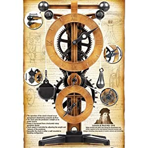 ACADEMY Da Vinci Machines Series Clock - Escapement Mechanism 18150A