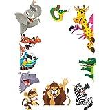 ElecMotive Jungle Wild Animal Vinyl Wall Sticker Decals for Kids Baby Bedroom (Jungle Animals)