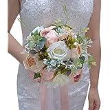 ETERNAL ANGEL Wedding Romantic Bouquet Bride Bridal Bouquets Bridesmaid Bouquet Artificial Flowers Valentine's Day Confession