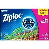 Ziploc Snack Bags, 280 Count