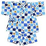 ミキハウス ホットビスケッツ (MIKIHOUSE HOT BISCUITS) 甚平スーツ 72-7515-975 90cm 白