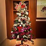 クリスマスツリーセット 150㎝ 素晴らしい14種類のオーナメント&LEDイルミネーション付き 【Perfect ten】