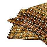 こたつ布団 長方形用こたつ布団(掛敷セット) 長方形180巾コタツ用 厚掛 タータン柄180
