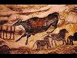 旧石器時代壁アート–キャンバスプリント(28x 20cm、額なし)