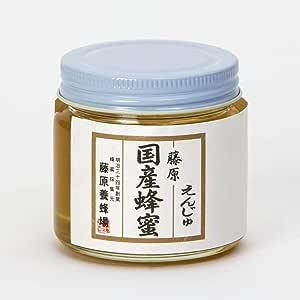 蜂蜜 専門店 藤原養蜂場 国産はちみつ 藤原国産蜂蜜 えんじゅ ガラス瓶 150g