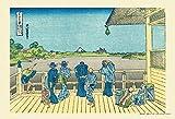 300ピース ジグソーパズル 富嶽三十六景 五百らかん寺さざゐどう(26x38cm)