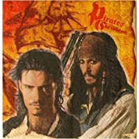 Pirates of the Caribbean 3 Lunch Napkins 16ct