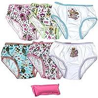 Handcraft Girls GUP5712 7-Pack LOL Surprise Underwear Panty Underwear - Multi