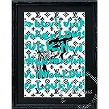 アートショップ フォームス ブランドオマージュアート/クレイグ・ガルシア「ルイ・ヴィトン/エクスクイジットT」A4ポスター