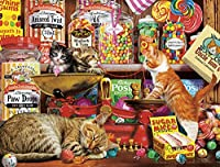 Buffalo Games Sweet Shop Kittens Cats Collection Jigsaw Puzzle (750 Piece)