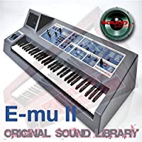 E-mu Emulator II - Large Original 24bit Multi-Layer WAVe/Kontakt Samples/Loops Studio Library 3.41GB on DVD or download