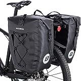 ROCKBROS(ロックブロス)パニアバッグ 自転車 リアバッグ サイドバック キャリアバッグ 防水 大容量 20L 4…