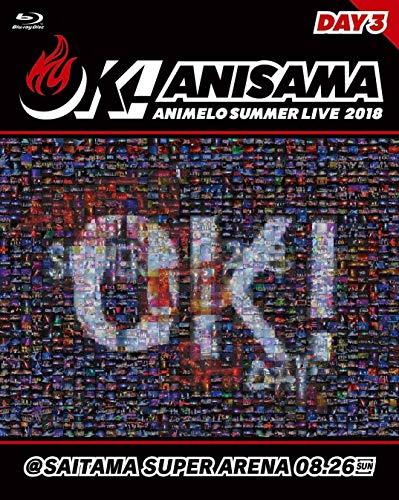 """【初回封入特典あり】Animelo Summer Live 2018""""OK!""""08.26 (Animelo Summer Live 2019-STORY-チケット最速先行抽選予約案内チラシ封入)[Blu-ray]"""