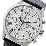 セイコー クロノ クオーツ メンズ 腕時計 SNAF69P1 ホワイト [並行輸入品]