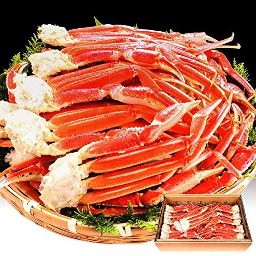 国華園 ボイル ずわい 満腹蟹脚 セット 10kg1組 かに 蟹 冷凍便