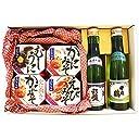 北国からの贈り物 おつまみ ギフト 海鮮 缶詰 4種 日本酒 2本 セット