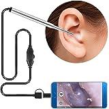 Digital Ear Otoscope - Endoscope Ear Cleaner - Ear Camera - Ear Cleaning Kit - Ear Inspection - Ear Pick - Earwax Cleaning To