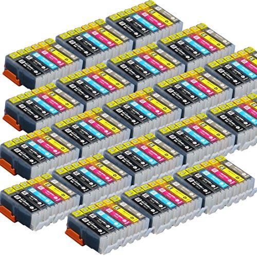 【120本セット!】キヤノン用 BCI-351XL(BK/C/M/Y/G)+350XL(BK)/6MP 6色マルチパック×20セット!増量版 ICチップ付 【互換インクカートリッジ】対応機種:PIXUS MG7130 / PIXUS MG6530 / PIXUS MG6330 「JAN:4582480214109」インクのチップスオリジナル
