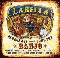 LaBella 730L Stainless Steel Banjo Strings Light [並行輸入品]