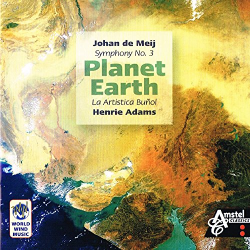 ヨハン・デ・メイ: 交響曲第3番「プラネット・アース」