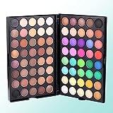 MSmask 80 Colors Matte Luminous Eyeshadow Cosmetic Makeup Eye Shadow Colorful Gift