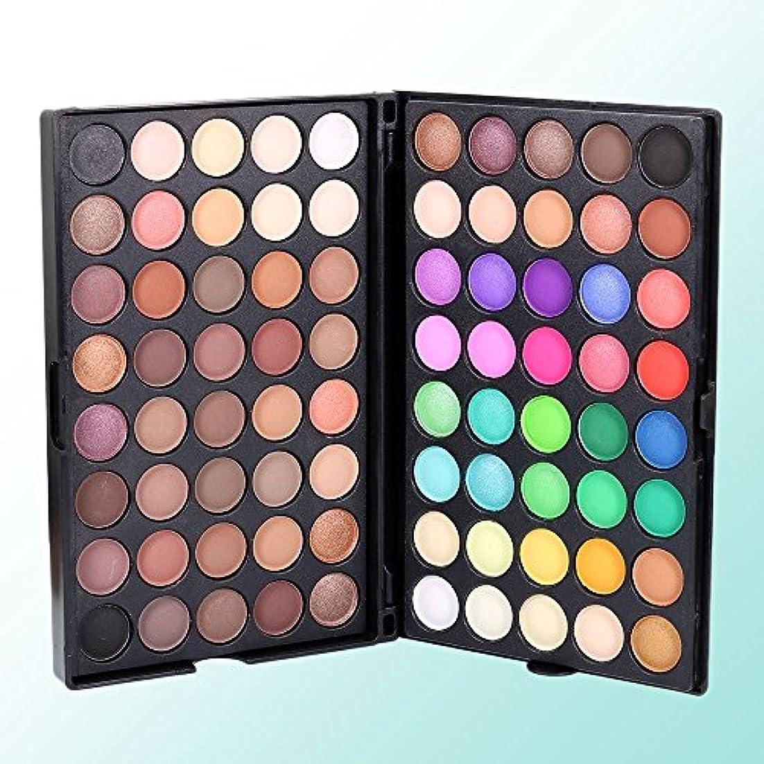 合わせて狂気圧縮されたMSmask 80 Colors Matte Luminous Eyeshadow Cosmetic Makeup Eye Shadow Colorful Gift