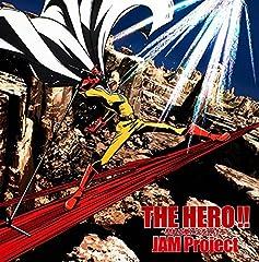 JAM Project「THE HERO!! 〜怒れる拳に火をつけろ〜」のジャケット画像
