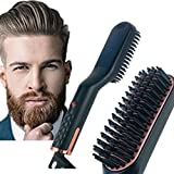 StormHero Cordless Beard Straightener 3IN1 Hair Comb Straightener Brush AU-PLUG, Quick Electric Brush (SAA Certified)