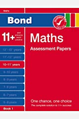 Bond Fourth Papers in Maths 10-11+ Years Paperback