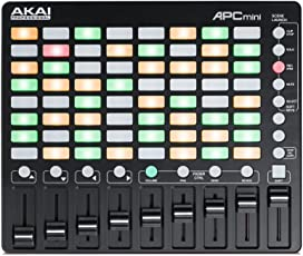 Akai Professional 小型 USB MIDIコントローラー 64クリップ Ableton Live Lite付属 APC mini