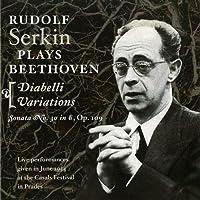 Diabelli Variations, Sonata No.30 Op.109 by Rudolf Serkin (2007-04-28)