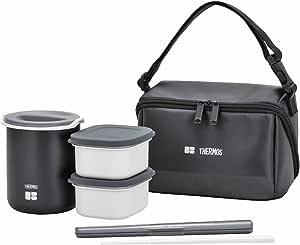サーモス 保温弁当箱 0.8合 ブラック DBQ-361 BK