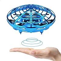 BOMPOW ドローン 子供 おもちゃ 360度回転 子供と大人用ドローン 小型, ハンドコントロール 高度維持 自動ホ…