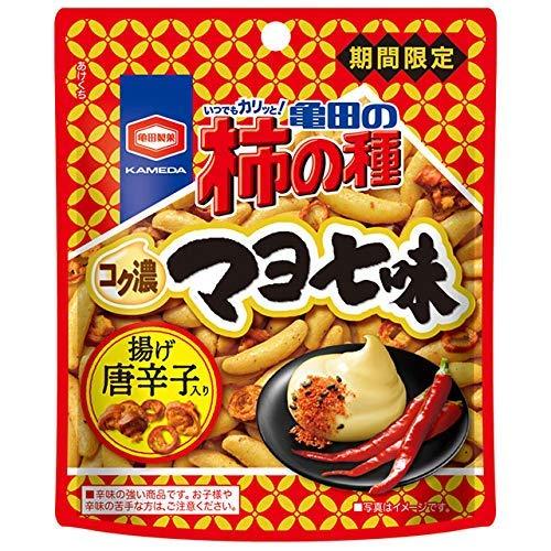亀田製菓 亀田の柿の種 コク濃マヨ七味 35g×6袋