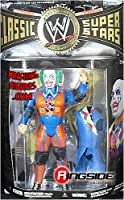 WWE Wrestling Classic Superstars Series 27 Action Figure Evil Doink the Clown